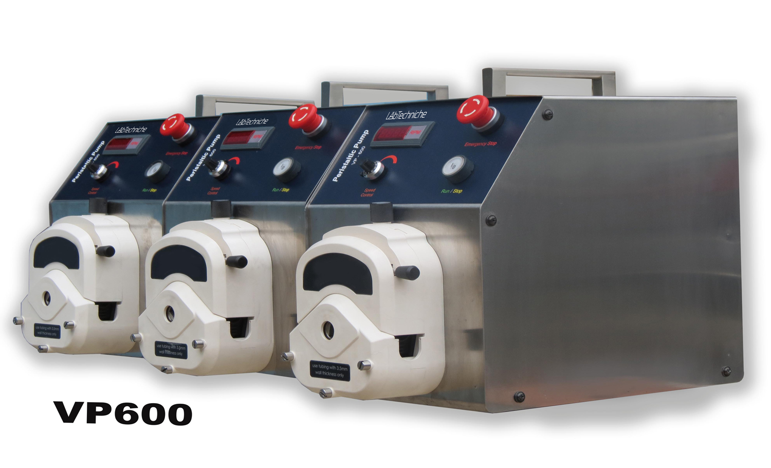 Single-Channel and Multi-Channel Peristaltic Pumps - LabTechniche