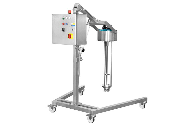 Semi-Automatic, Mobile High Shear Mixer from LabTechniche
