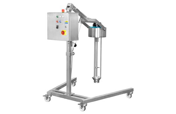 Semi-Automatic, Mobile High Shear Mixer from LabTechniche