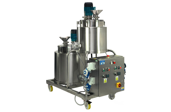 Stainless Steel Mixing Vessels From LabTechniche